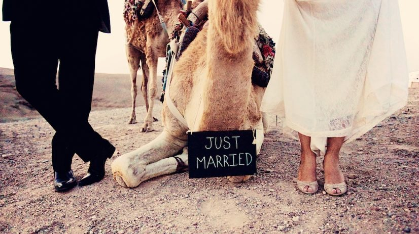 wedding in Marrakech Camel shoes ©lasdecoeur