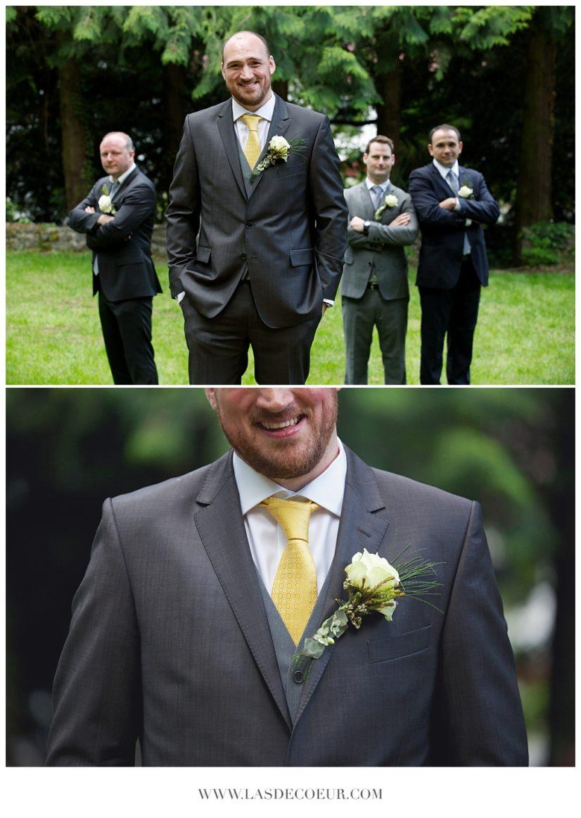 photos de mariage garçons d'honneurs puy en velay