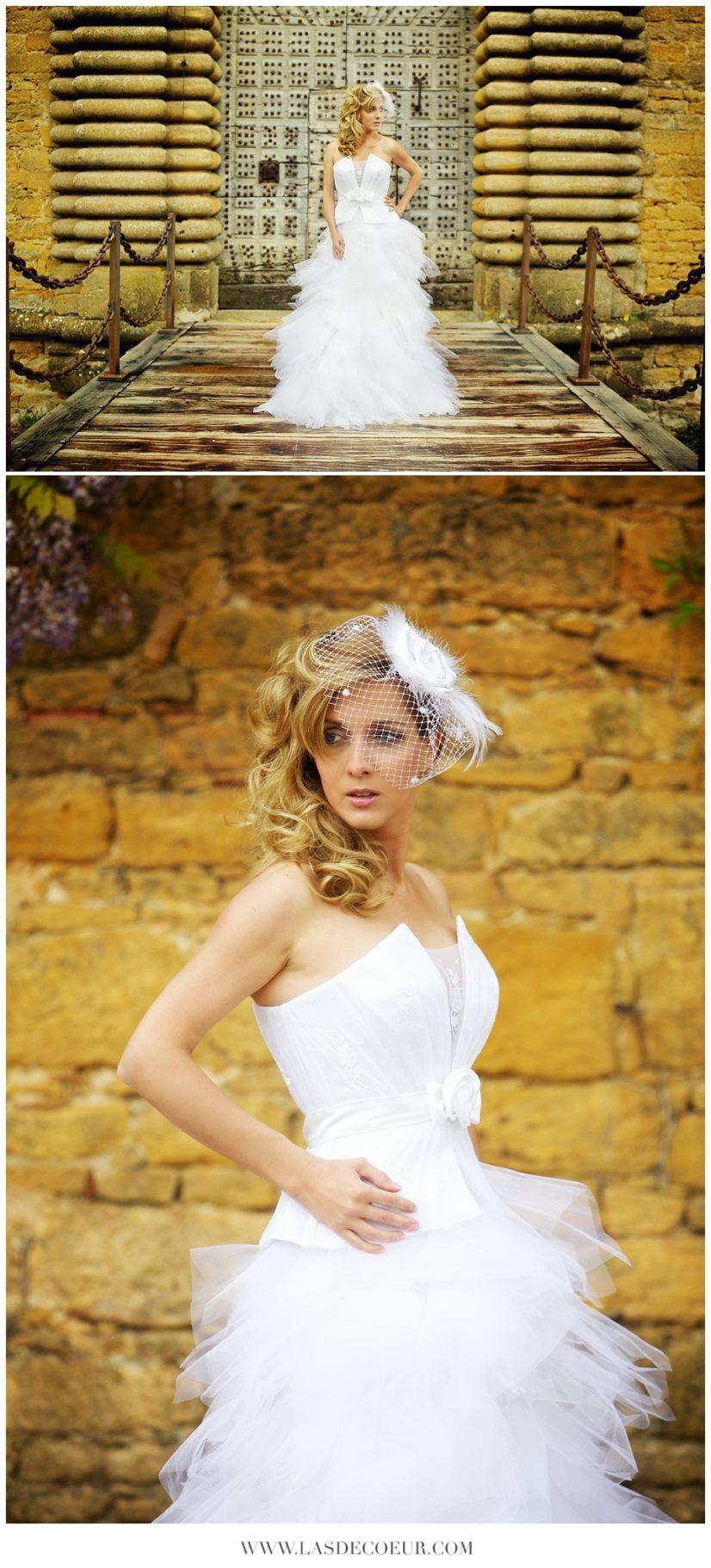 Robe mariée chateau de bagnols