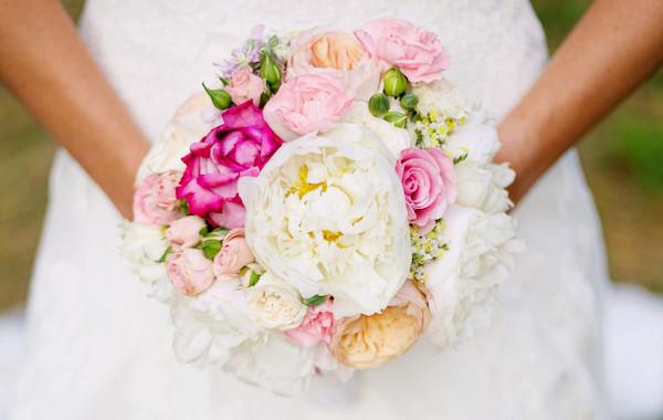 Bouquet Mariée Pastel