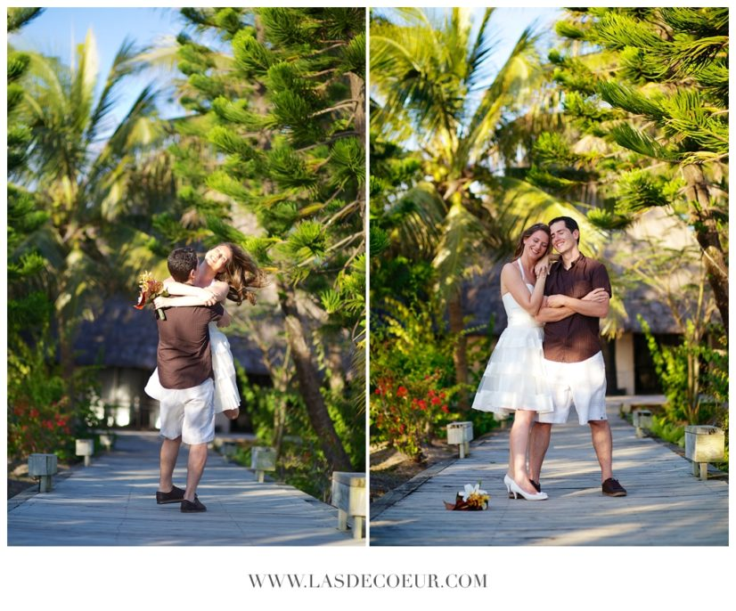 video photo mariage sur la plage