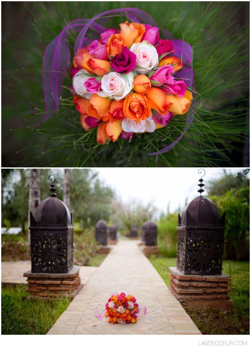 bouquet mariage marrakech