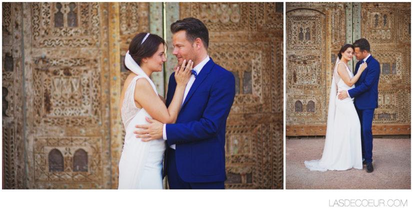 Photo mariés maroc desert