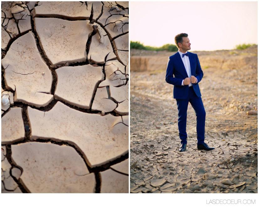 Photo marié maroc desert