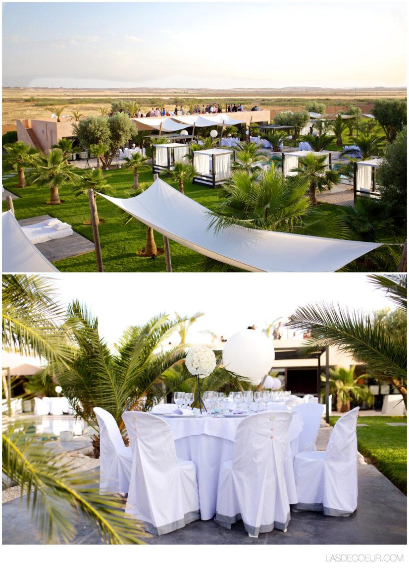 Photo déco mariage marrakech