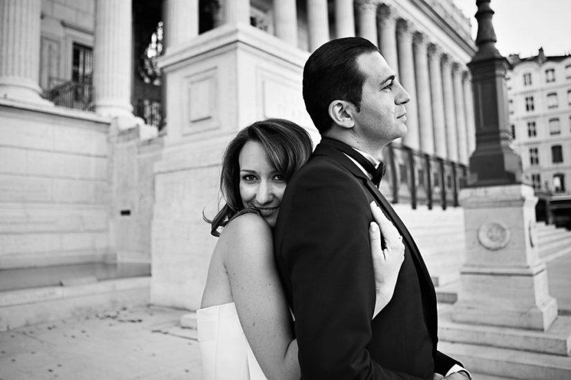 Photos De Couple à La Cour Des Loges – Lyon