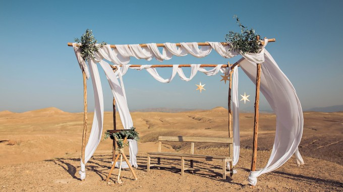 Wedding In The Desert Of Agafay Morocco