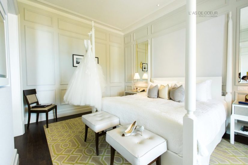 chambre mariage Montreux palace suisse