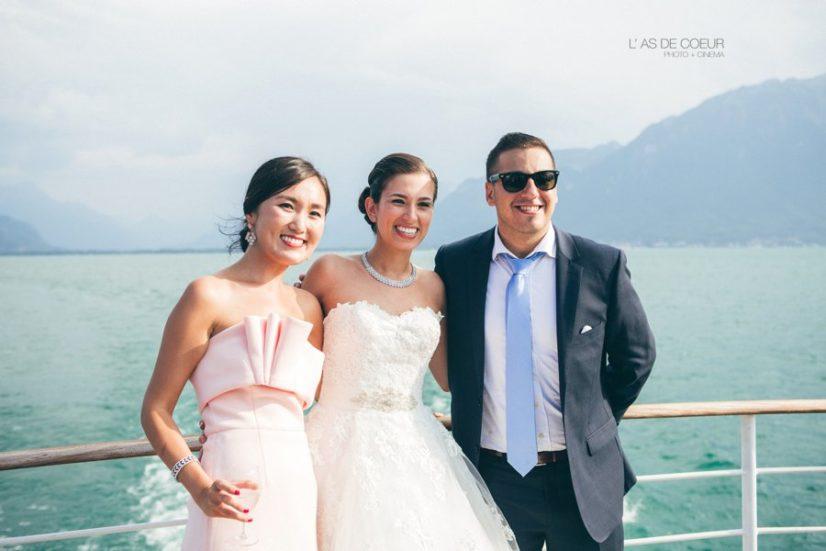 Photos de famille lac leman suisse