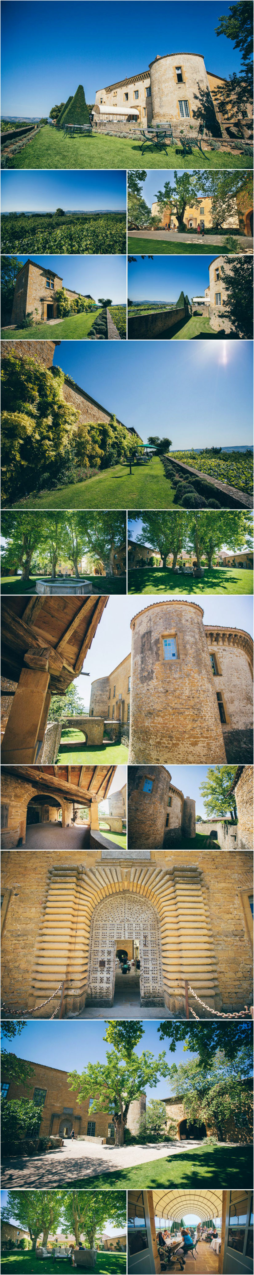 French wedding photographer videographer chateau Bagnols France