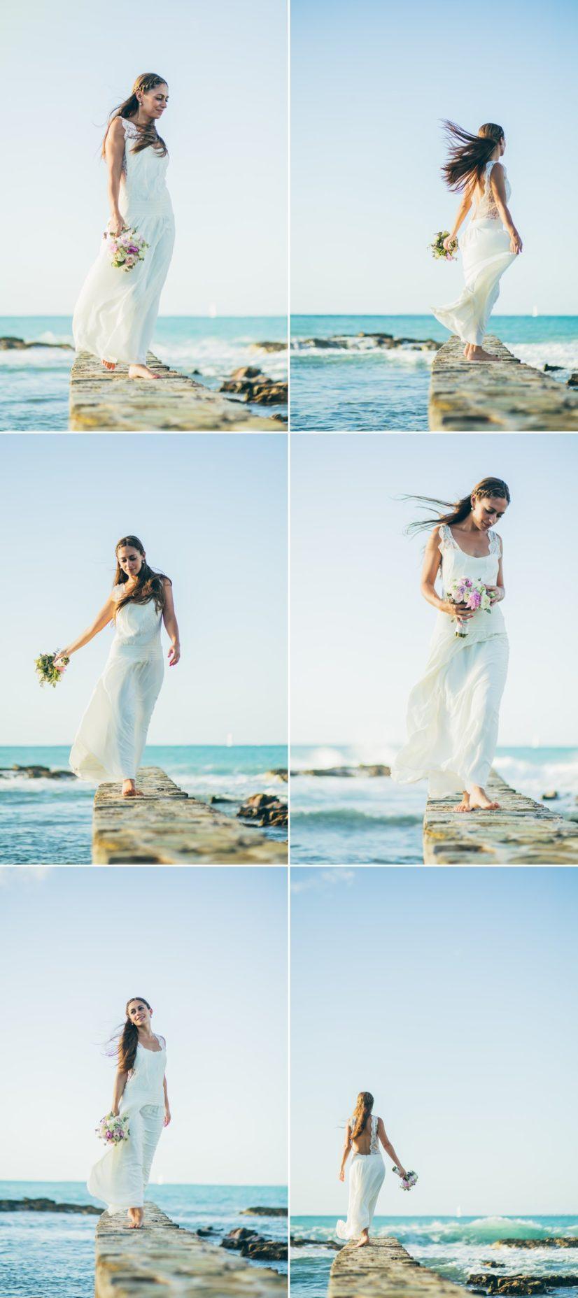 photos mariée plage caraïbes L'As de Coeur