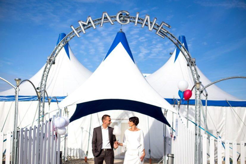 Mariage Insolite Dans Un Cirque, Lyon