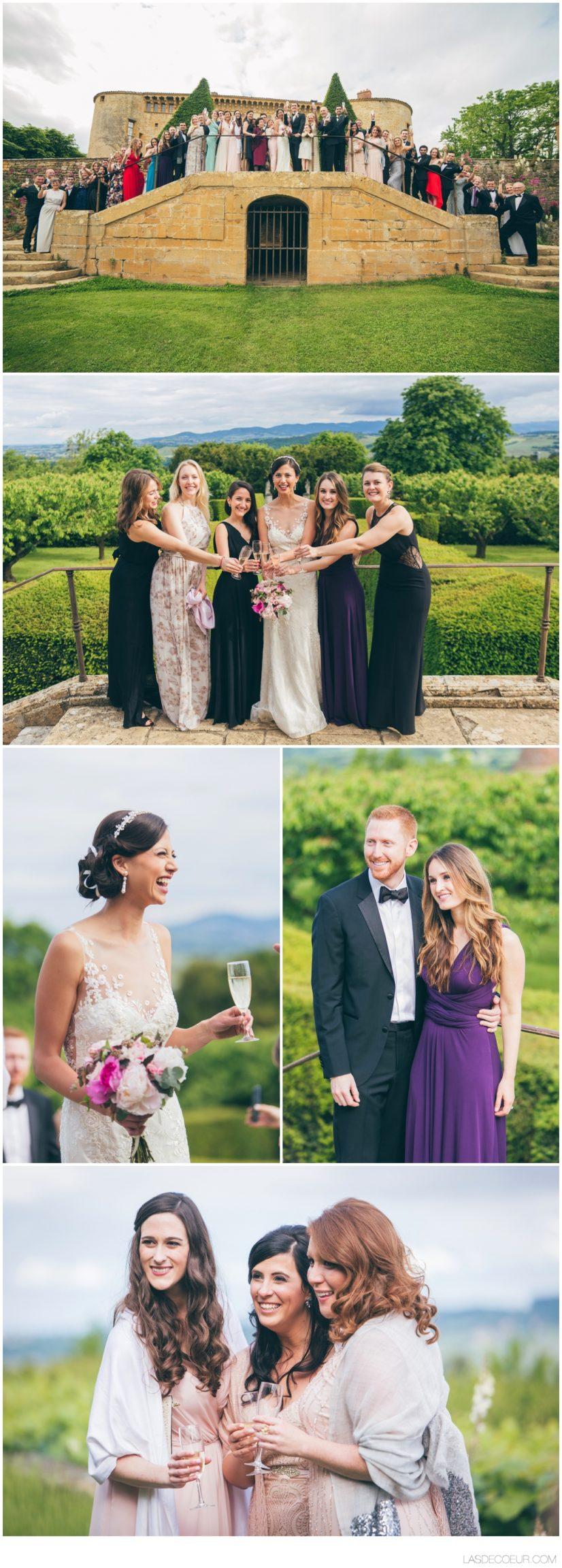 Photographe et vidéaste mariage Lyon photo groupe