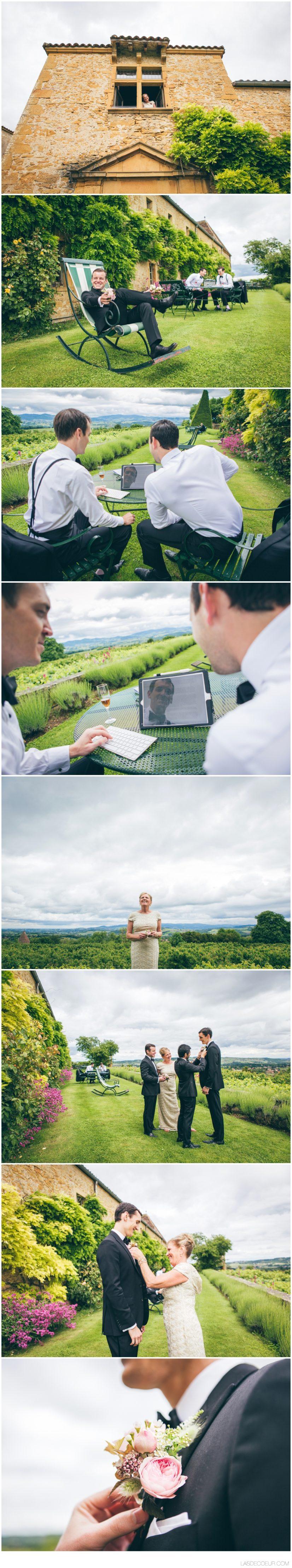Photographe vidéaste mariage Lyon Chateau Bagnols
