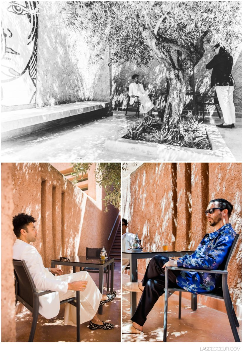Photo mariage Marrakech préparatifs Dar Sabra
