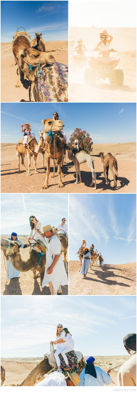 Photographe mariage Marrakech désert d'Agafay