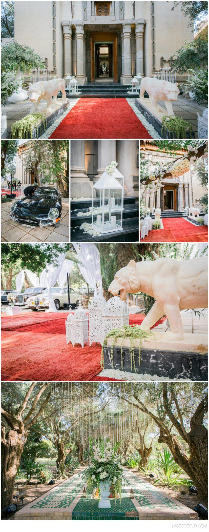 Photo mariage Marrakech palais privé