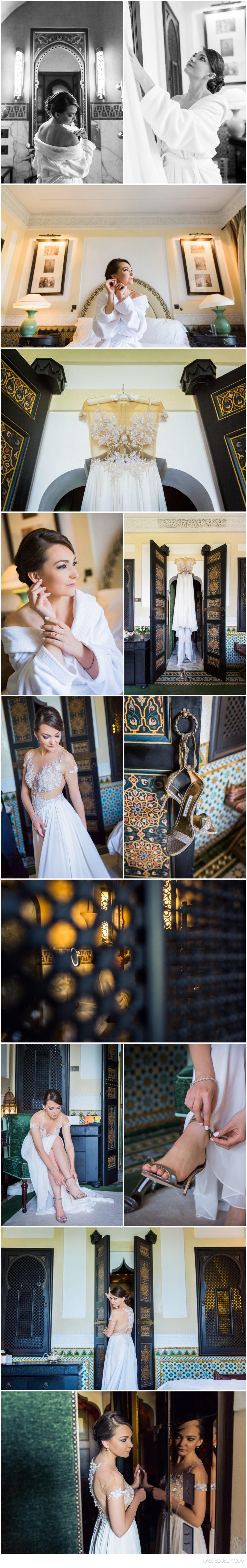 Photo mariage Marrakech préparatif La Mamounia