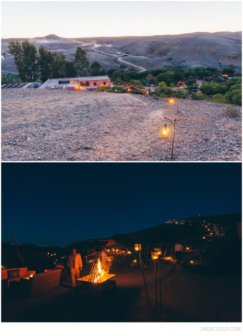 photograph mariage Marrakech désert agafay