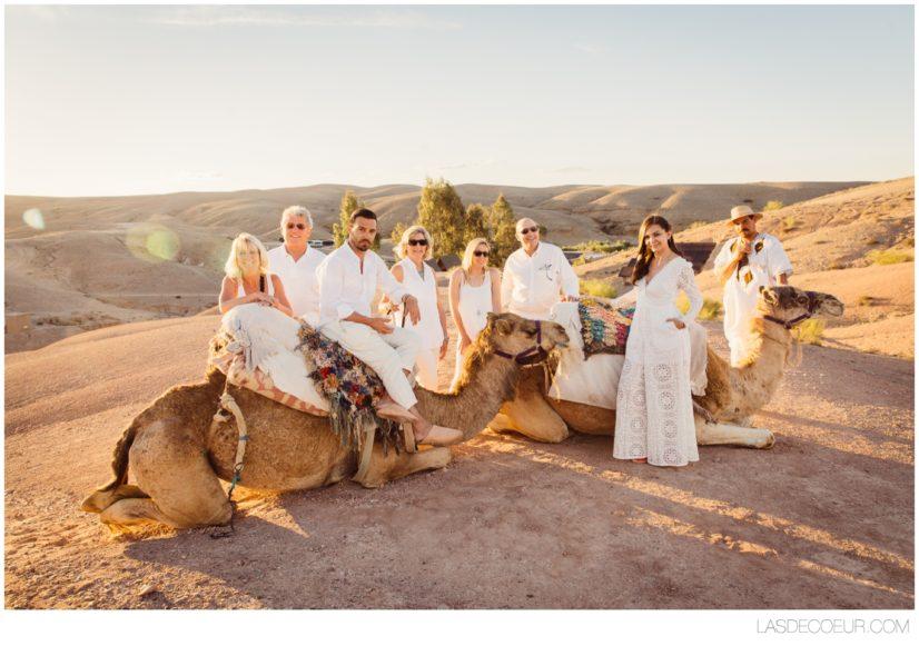Photo Mariage Marrakech désert d'Agafay