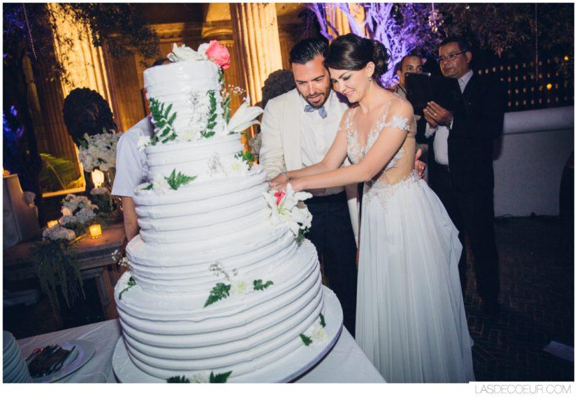 Photo mariage Marrakech wedding cake