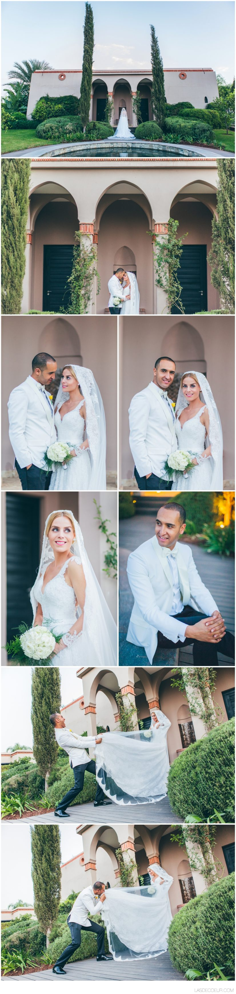 Photo couple Mariage Four Seasons Marrakech