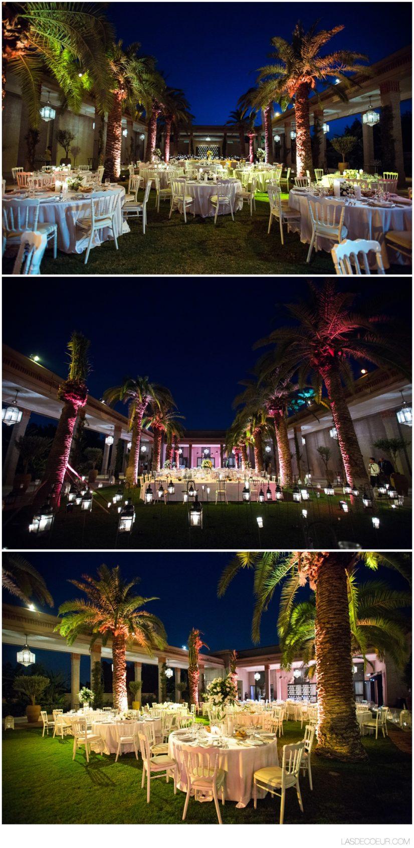 déco Mariage Four Seasons Marrakech