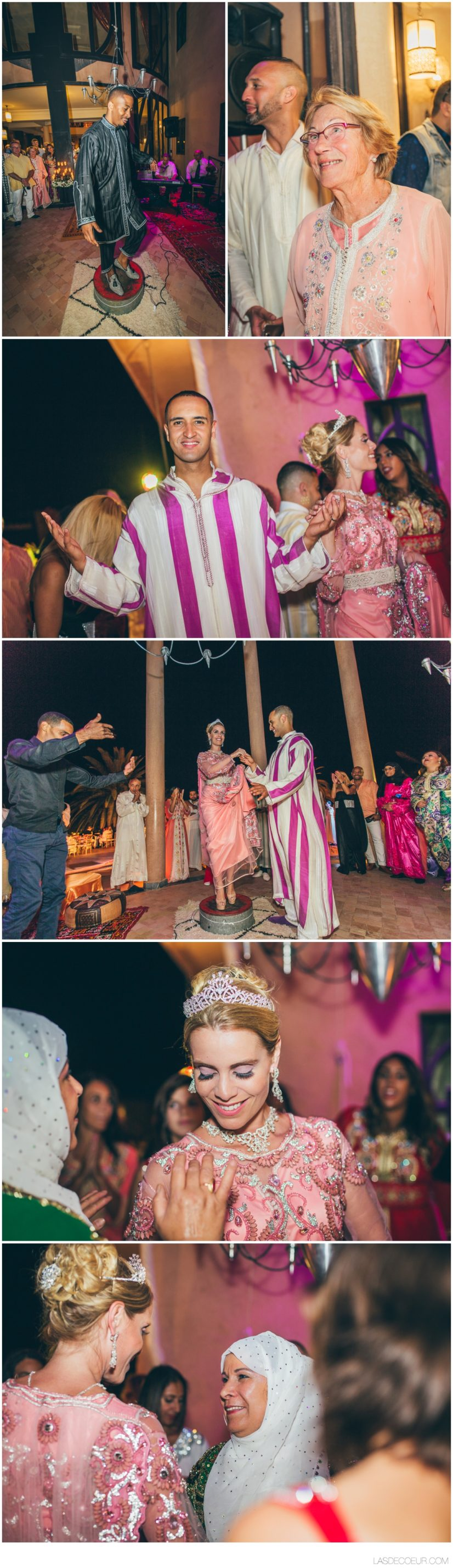 Mariage multiculturel Palais O'Atlas