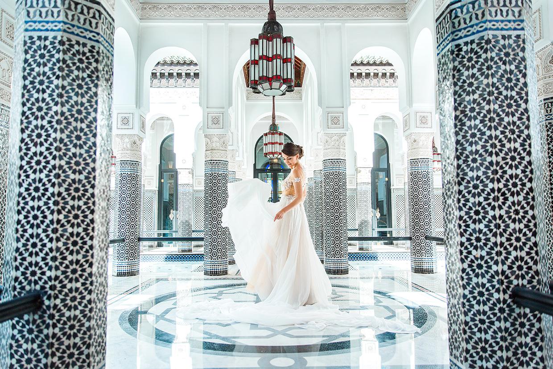 Mariage À La Mamounia Marrakech