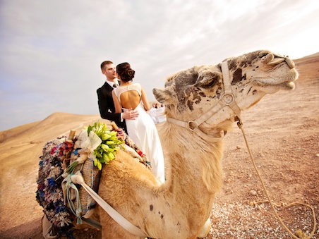 Intimate Wedding In Marrakech In The Desert