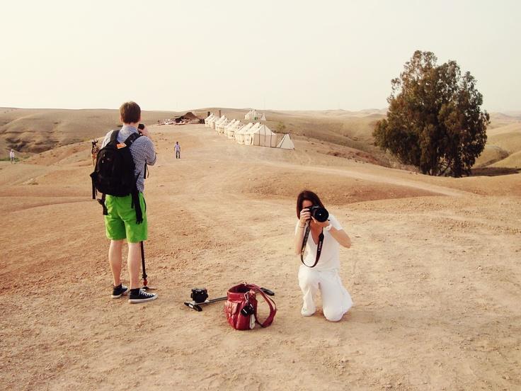 L'As de Coeur dans le désert d'Agafay