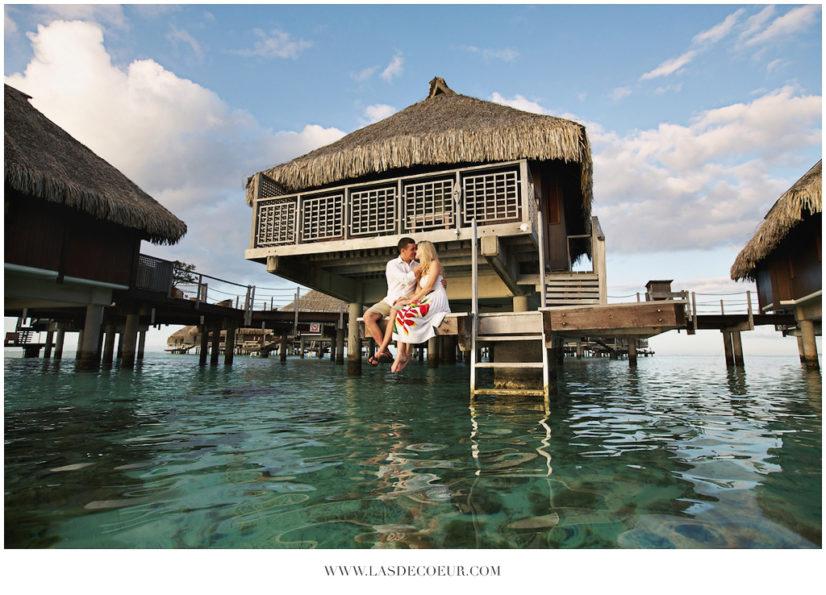 Photos De Couple Dans Les Iles A Bora Bora