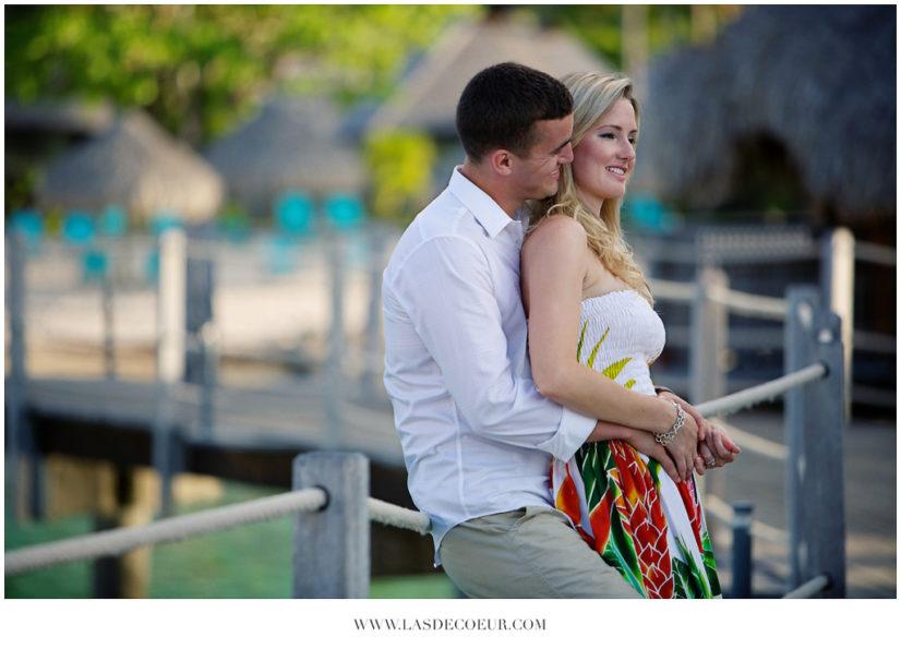 engagement Hilton Bora Bora