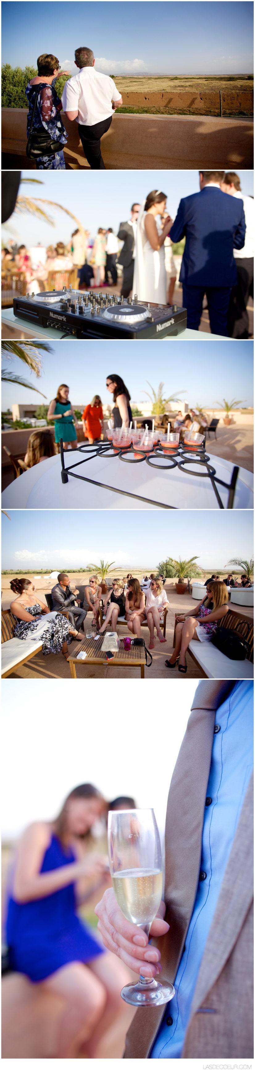 Photo cocktail mariage marrakech