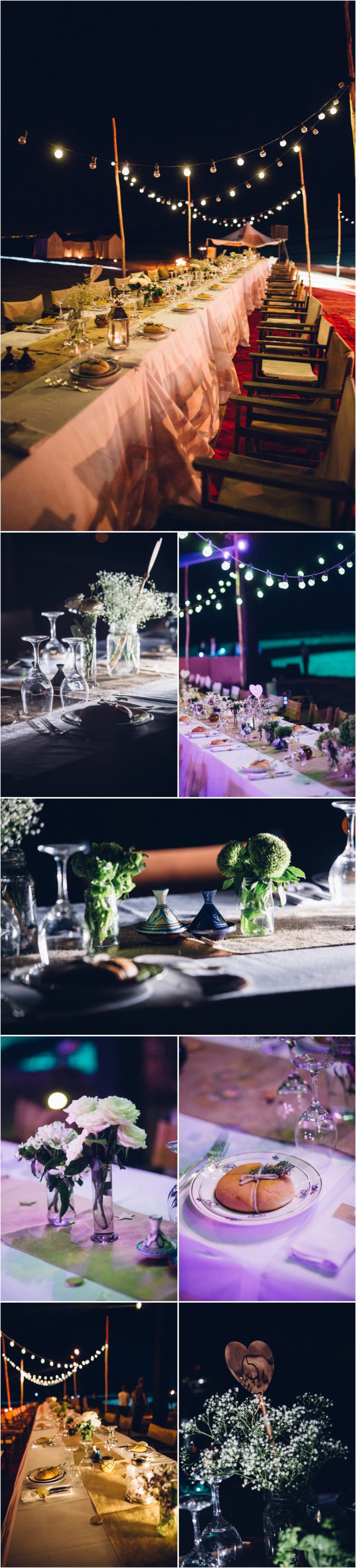 decoration mariage soirée desert maroc