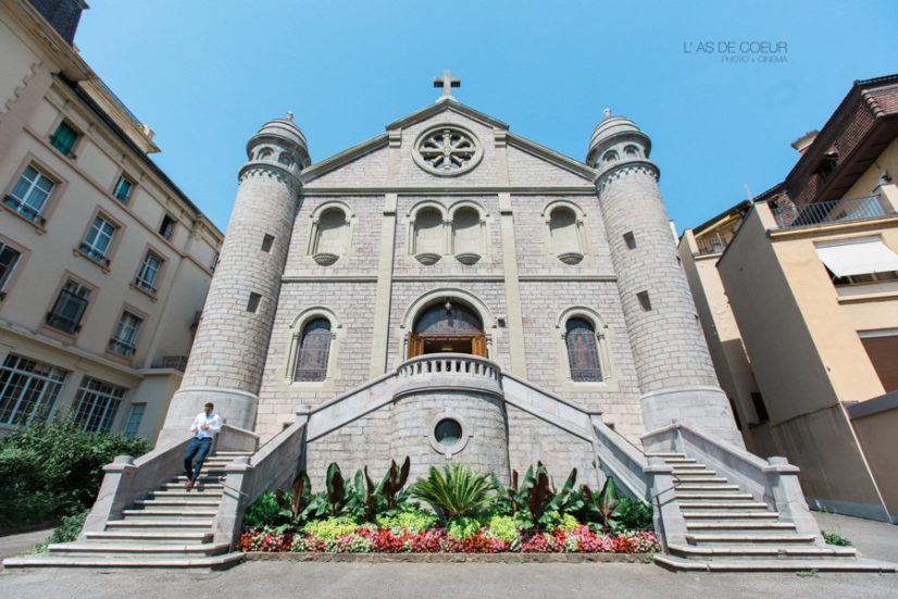 église Montreux suisse