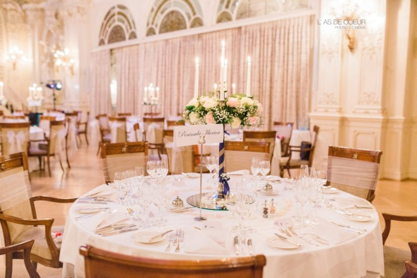 déco mariage fairmont montreux palace suisse