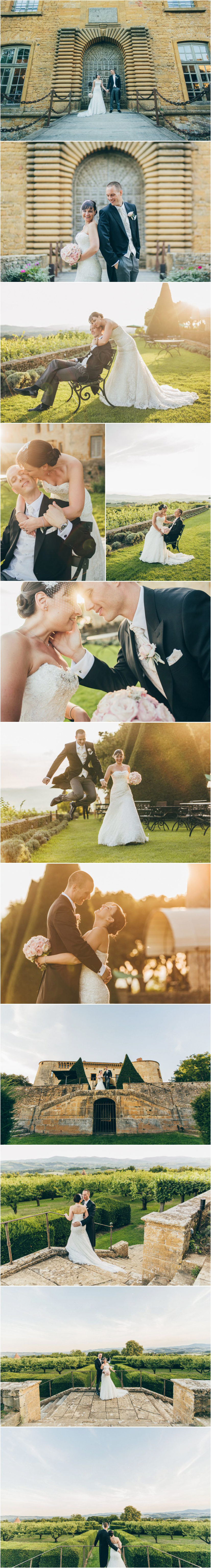 french wedding photographer chateau Bagnols burgundy
