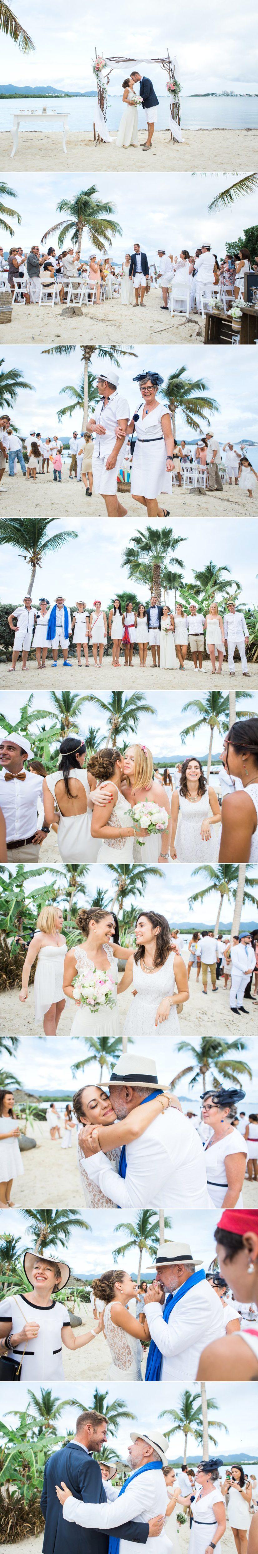 cérémonie laïque mariage caraïbes L'As de Coeur