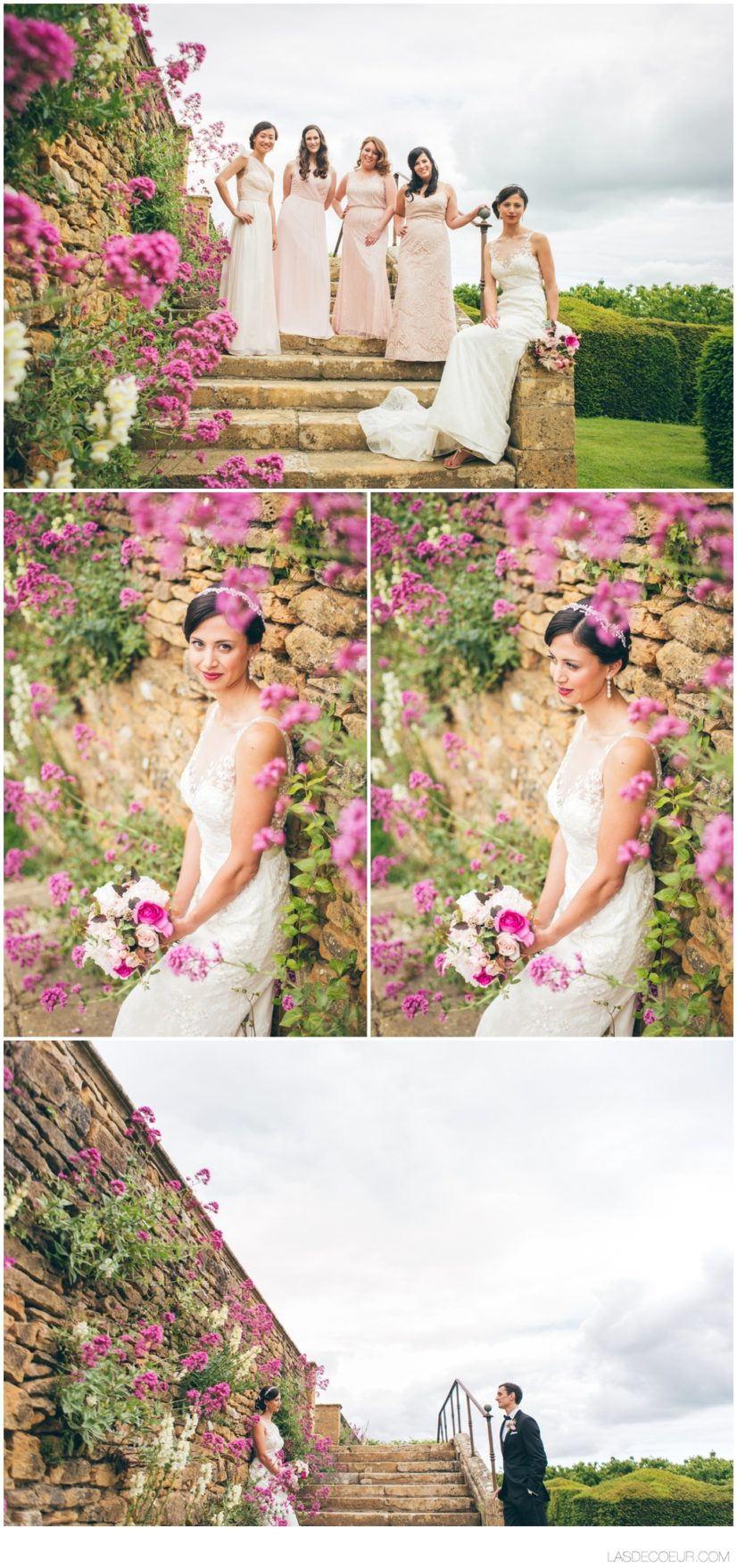 Photo mariée Chateau Bagnols Lyon ©lasdecoeur