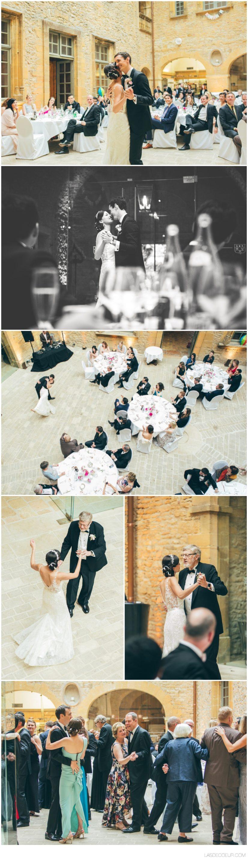1ere danse photographe mariage Lyon Bagnols ©lasdecoeur