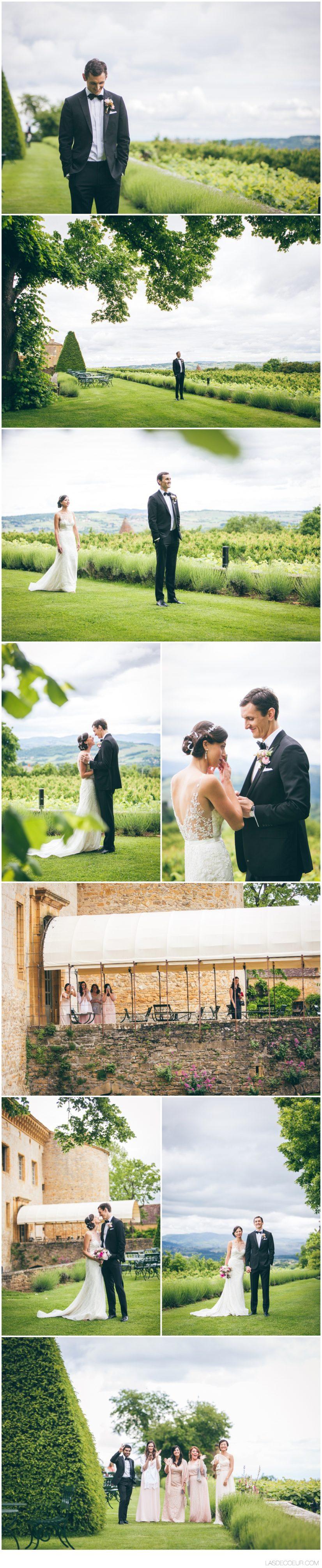Photographe mariage Lyon Chateau Bagnols rencontre mariés