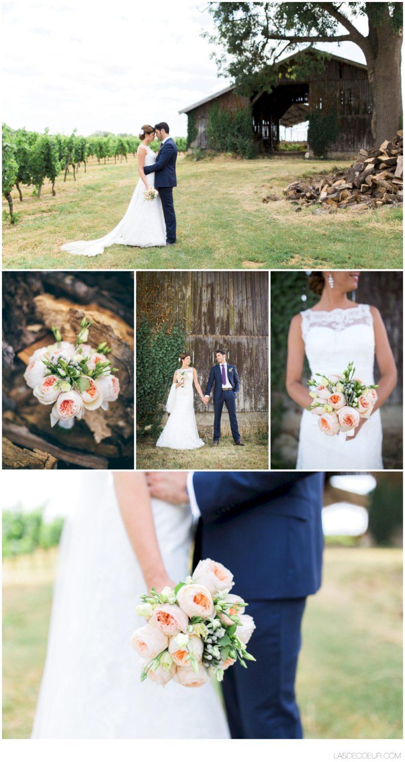vidéaste mariage Bordeaux fleurs