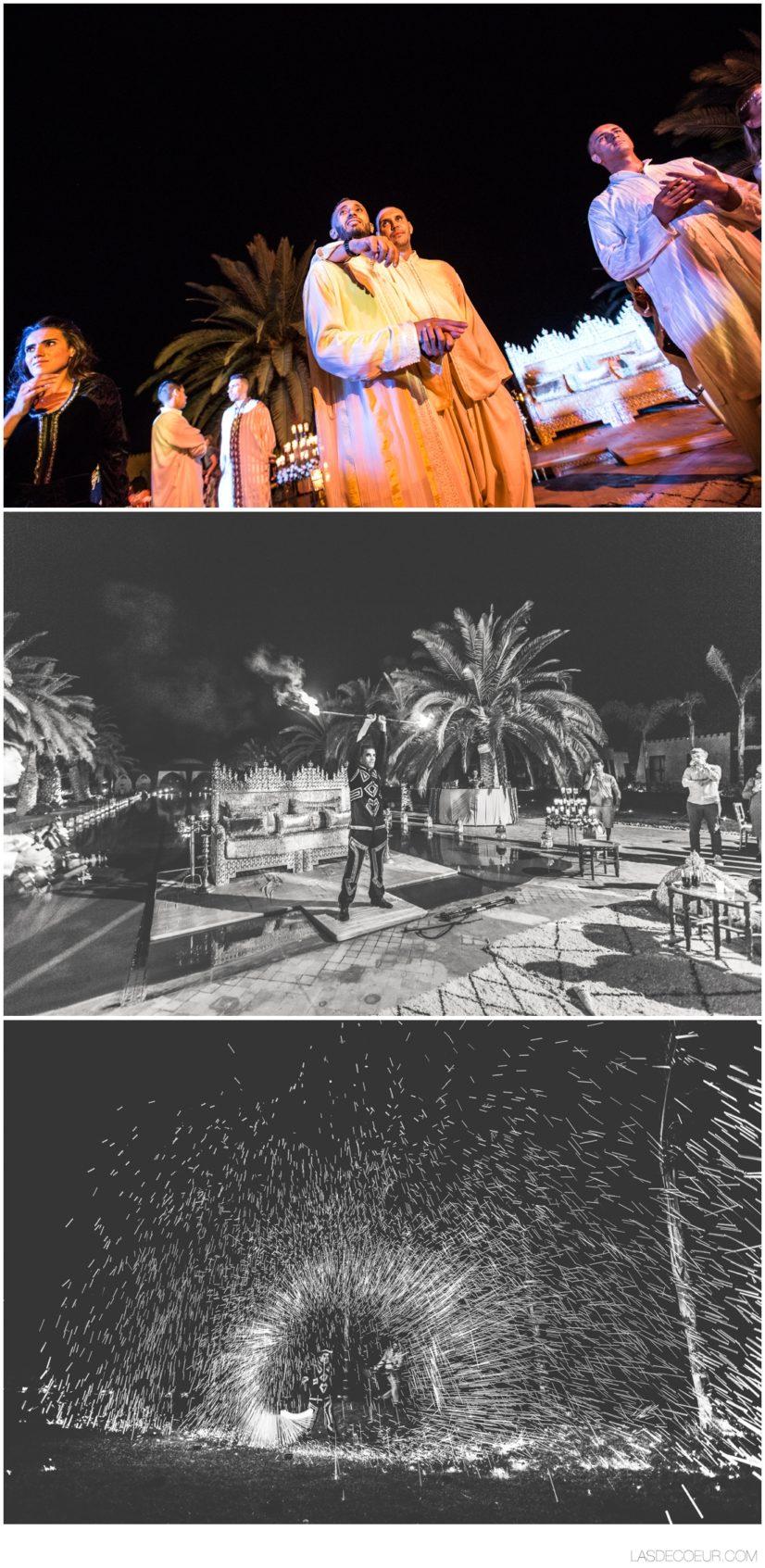 photographe mariage Marrakech Jongleur de feu