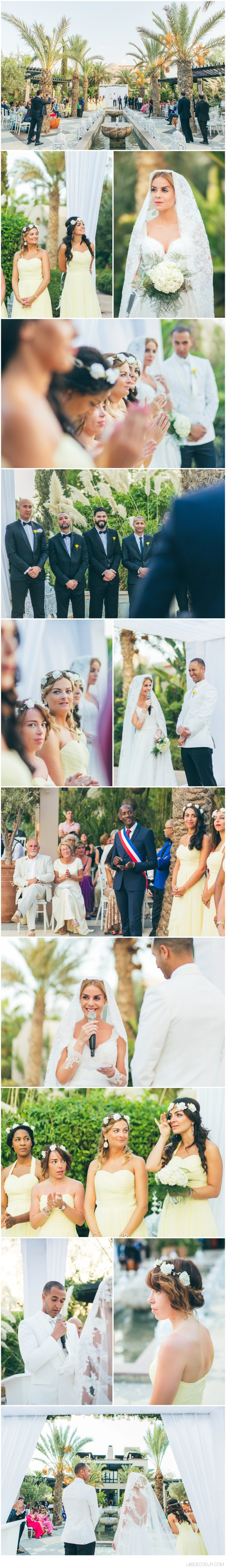 photographe mariage Marrakech cérémonie extérieur