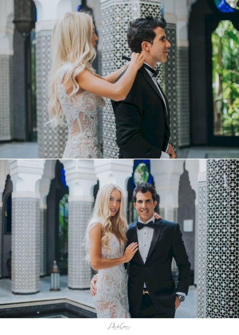 Photo mariage au palais Selman Marrakech