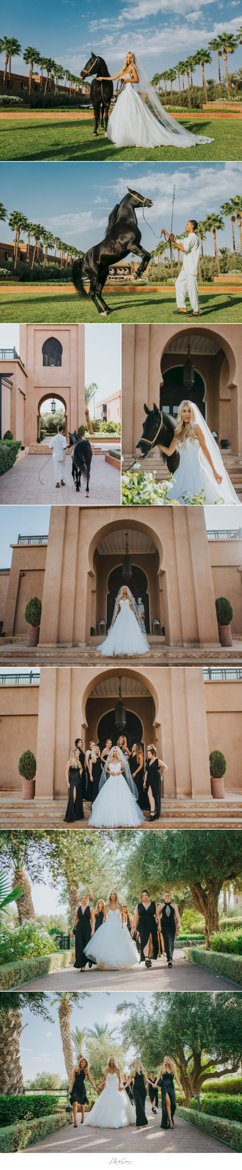 Photo mariage au palais Selman Marrakech