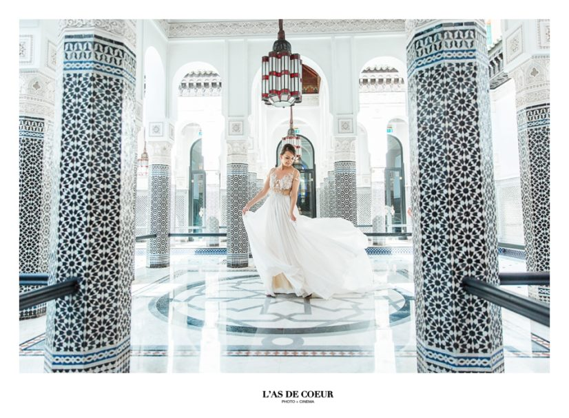 photographe mariage Marrakech la Mamounia ©lasdecoeur.com