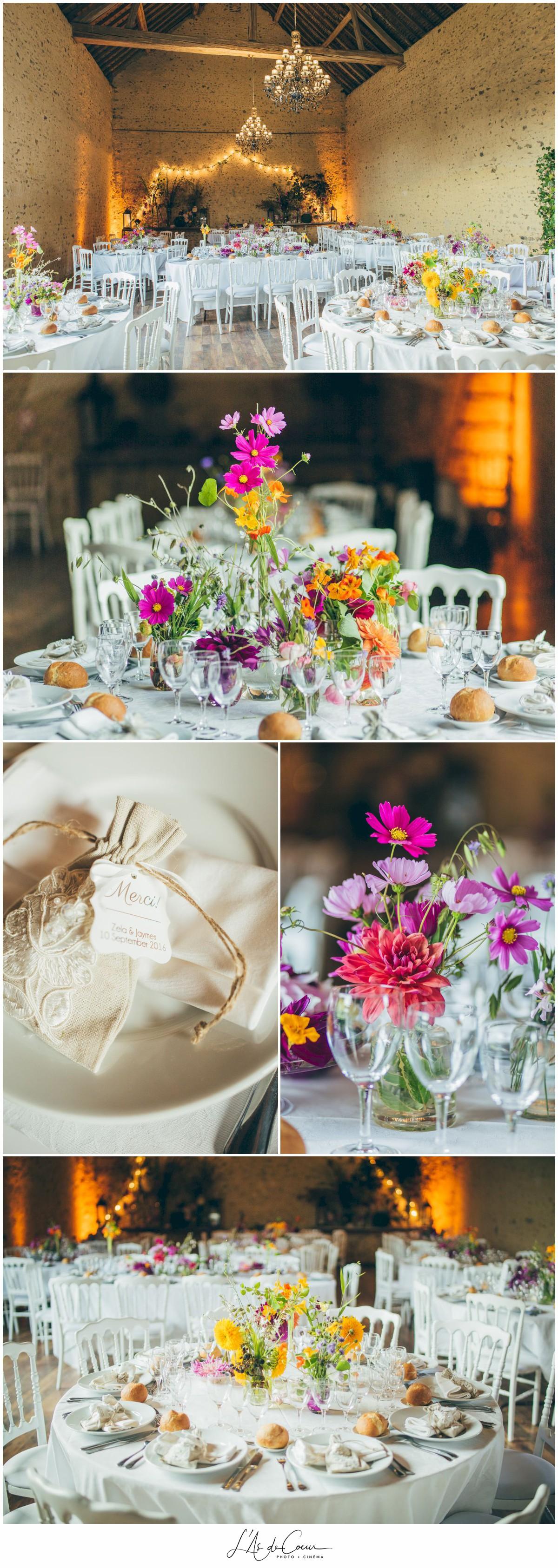 deco champetre chic mariage au Domaine des Evis ©lasdecoeurphoto