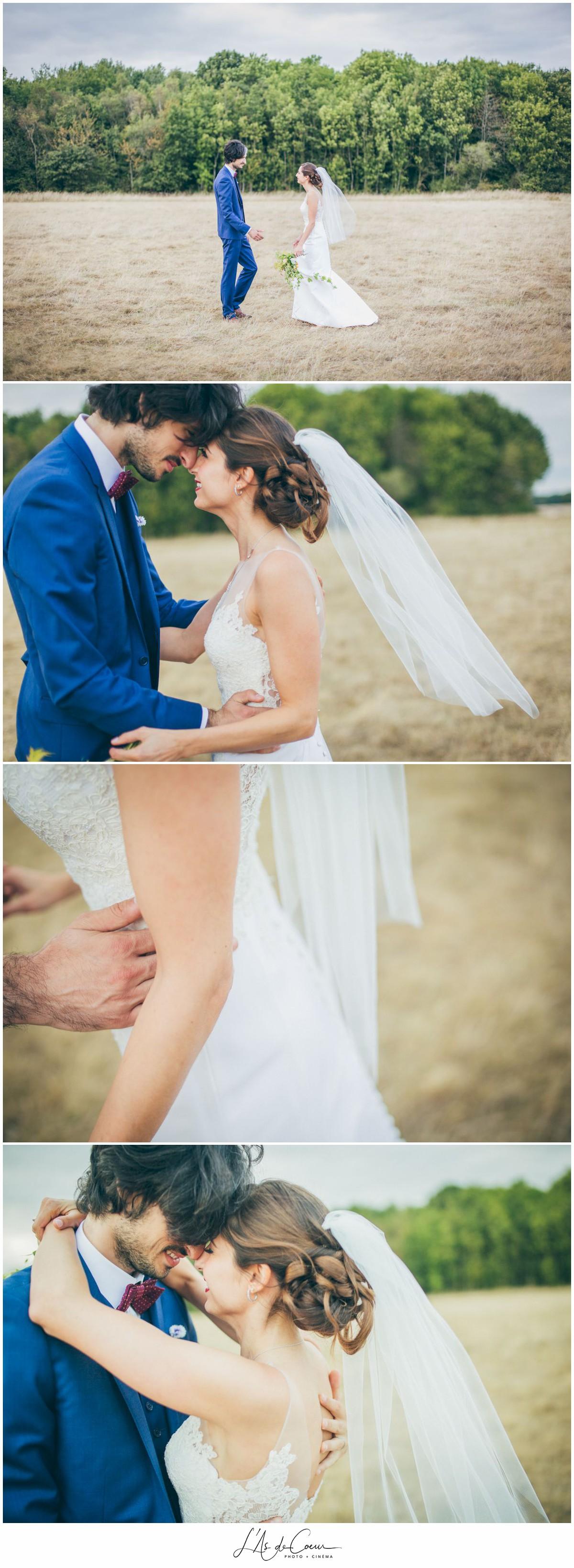 photo couple mariage au Domaine des Evis ©lasdecoeur
